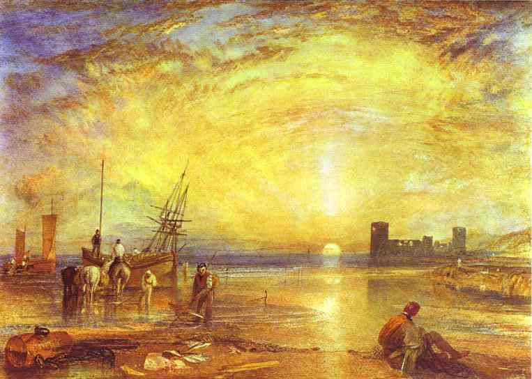 Flint Castle, (1838), William Turner