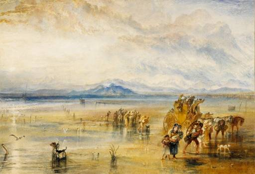 Lancaster Sands, (1824), William Turner